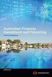 Australian Property Investment and Financing Third Edition - Book