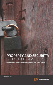 Property & Security: Selected Essays