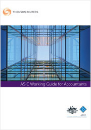 ASIC Working Guide for Accountants: Online (Westlaw AU)