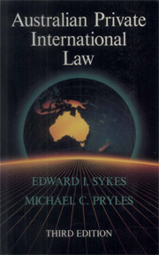 Australian Private International Law - PDF