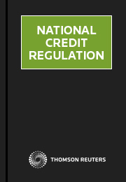 National Credit Regulation: Online (Westlaw AU)