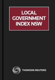 Local Government Index NSW Online