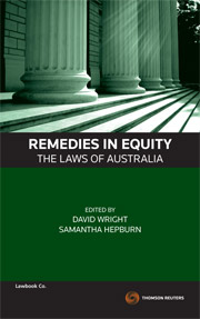 Remedies in Equity The Laws of Australia