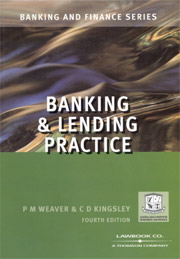 Banking & Lending Practice 4th Edition - PDF