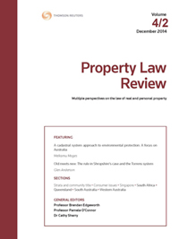 Property Law Review: Parts
