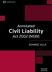 Annotated Civil Liability Act