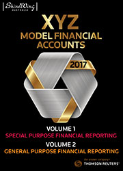 XYZ Model Financial Accounts - Volume 1 & 2 (Subscription)
