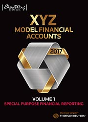 XYZ Model Financial Accounts Volume 1 - Special Purpose Financial Reporting (Subscription)