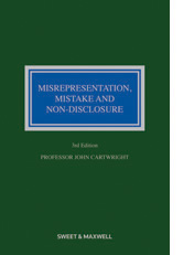 Misrepresentation  Mistake & Non Disclosure  3rd Edition