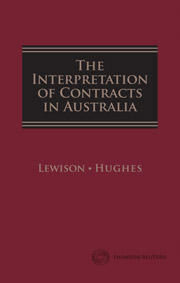 The Interpretation of Contracts in Australia