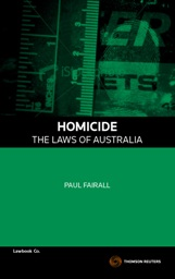 Homicide - The Laws of Australia