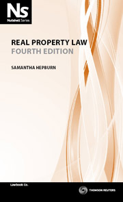 Nutshell: Real Property Law 4th Edition