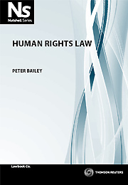 Nutshell: Human Rights Law 1st Edition