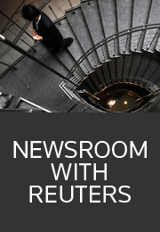 Newsroom with Reuters