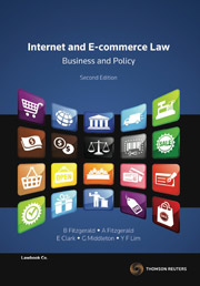 Internet and E-commerce Law, Business and Policy - eBook + Book