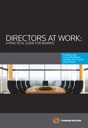 Directors at Work: A Practical Guide for Boards - eBook + Book