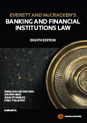 Everett & McCracken's Banking & Fin Institutions Law 8e