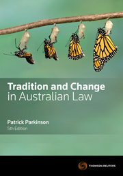 Tradition & Change in Australian Law 5th Edition