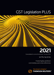 GST Legislation Plus - Online (WestlawAU)