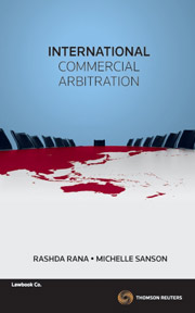 International Commercial Abitration 1e - eBook