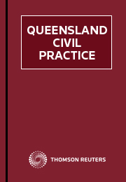 Queensland Civil Practice - eSub