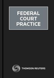 Federal Court Practice eSubscription