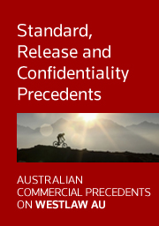 ACP Standard, Release and Confidentiality Precedents