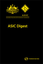 ASIC Digest (Tax and Accounting)