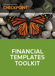 Financial Templates Toolkit - Checkpoint
