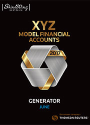 XYZ Model Financial Accounts Generator - Online (Checkpoint)