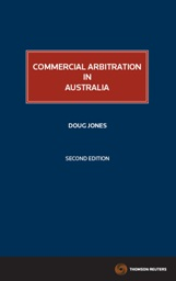 Commercial Arbitration in Australia 2nd Edition - eBook
