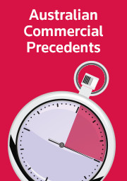 ACP: Australian Commercial Precedents 13 Pack