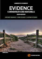 Evidence: Commentary & Materials 8th edition