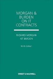 Morgan and Burden on IT Contracts 9th Edition