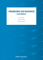 Pensions on Divorce 2nd edition