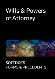 Australian Wills and POA - Softdocs Forms & Precedents
