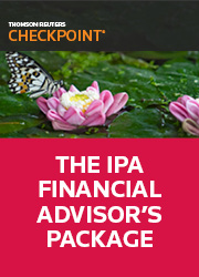 Checkpoint - The IPA Financial Advisor's Package
