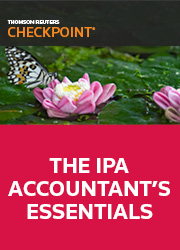 Checkpoint - The IPA Accountant's Essentials