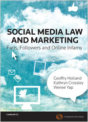 Social Media Law and Marketing book + ebook