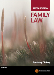 Family Law 6th Edition