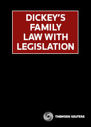 Dickey's Family Law with Legislation