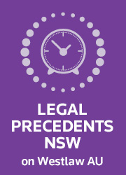 WLAU-Family Law Precedents-Legal Precedents NSW