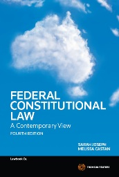 Federal Constitutional Law: A Contemporary View 4e eBook + Book