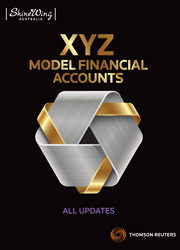 XYZ Model Financial Accounts - All Updates - Book & Online - Subscription