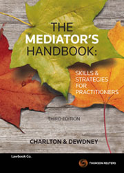 The Mediator's Handbook 3e - Book