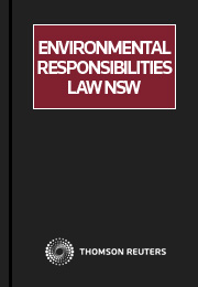 Environmental Responsibilities Law NSW eSubscription