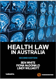 Health Law in Australia 2nd edition