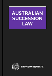 Australian Succession Law eSubscription