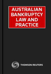 Australian Bankruptcy Law and Practice - eSub