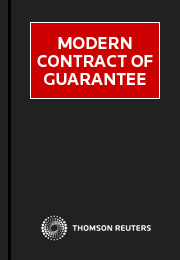 Modern Contract of Guarantee eSubscription